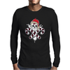 Gangster Skull and Crossbones Christmas Pirate Mens Long Sleeve T-Shirt