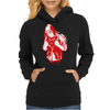 Gangster With A Cross Womens Hoodie