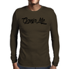 Ganja Life Letters Mens Long Sleeve T-Shirt