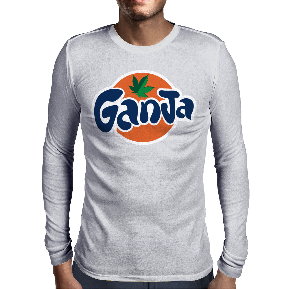 Ganja Mens Long Sleeve T-Shirt
