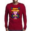 Gary's Cocktails (Real artwork for fake businesses series) Mens Long Sleeve T-Shirt