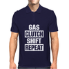 Gas Clutch Shift Repeat Mens Polo