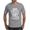 Gas Clutch Shift Repeat Mens T-Shirt