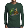 Gator and Turtle Sing The Blues  Mens Long Sleeve T-Shirt