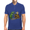 Gator and Turtle Sing The Blues  Mens Polo