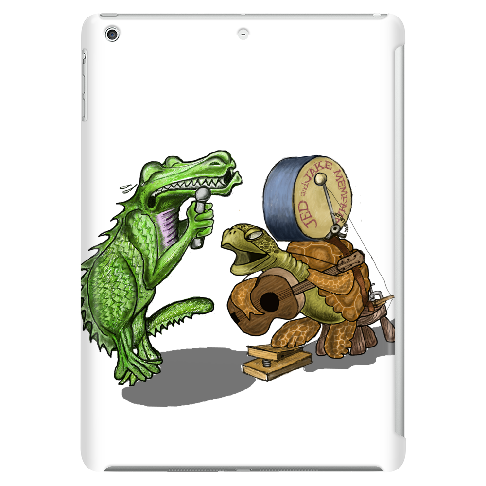 Gator and Turtle Sing The Blues  Tablet (vertical)
