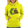Gator and Turtle Sing The Blues  Womens Hoodie