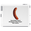 Gay hotdog venders always have Grey Poupon their wieners Tablet (horizontal)