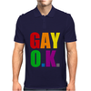 Gay Ok Design Mens Polo