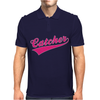 Gay Pride Catcher Funny Mens Polo