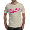 Gay Pride Catcher Funny Mens T-Shirt