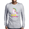 Gay Pride F#ck Younicorn Funny Rude Unicorn Mens Long Sleeve T-Shirt