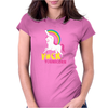 Gay Pride F#ck Younicorn Funny Rude Unicorn Womens Fitted T-Shirt