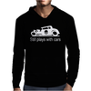 GearHead Still Plays with Cars Mens Hoodie