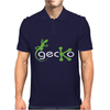 Gecko Funny Mens Polo