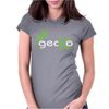 Gecko Funny Womens Fitted T-Shirt