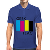 Geek Flag (Black Flag) Mens Polo