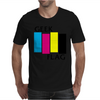 Geek Flag (Black Flag) Mens T-Shirt