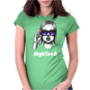 Geek High Tech Womens Fitted T-Shirt