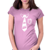 Geek Pocket Protector Tie Womens Fitted T-Shirt