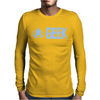Geek Star Trek Mens Long Sleeve T-Shirt