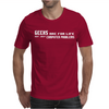 Geeks Are For Life Not Just Computer Problems Mens T-Shirt