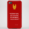 Genius billionaire playboy philanthropist Phone Case