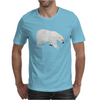 Geometric Polar Bear Mens T-Shirt