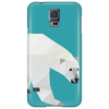 Geometric Polar Bear Phone Case