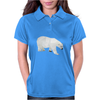 Geometric Polar Bear Womens Polo