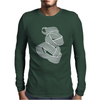 Geometric shape Mens Long Sleeve T-Shirt