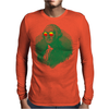 George Washington in sunglasses vignette Mens Long Sleeve T-Shirt