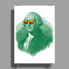 George Washington in sunglasses vignette Poster Print (Portrait)