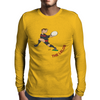 Georgia Rugby Back World Cup Mens Long Sleeve T-Shirt