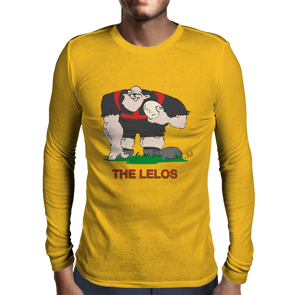 Georgia Rugby Forward World Cup Mens Long Sleeve T-Shirt