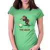 Georgia Rugby Kicker World Cup Womens Fitted T-Shirt