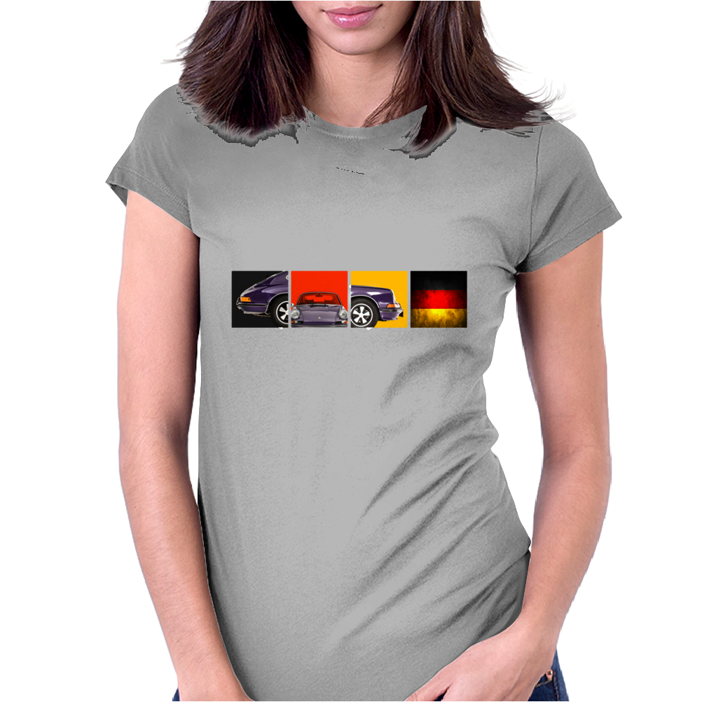German Icon - The 911S Womens Fitted T-Shirt