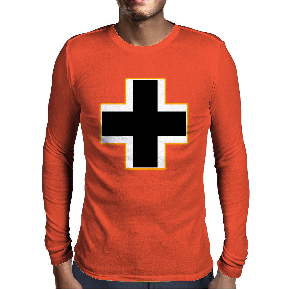 German Insignia Roundel Luftwaffe Mens Long Sleeve T-Shirt