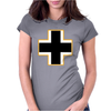 German Insignia Roundel Luftwaffe Womens Fitted T-Shirt