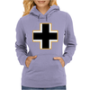German Insignia Roundel Luftwaffe Womens Hoodie