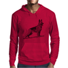 German Shepherd, Dog Breed Illustration Mens Hoodie