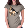 German Shepherd Womens Fitted T-Shirt