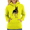 German Shepherd Working Dog Womens Hoodie