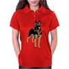 German Shepherd Working Dog Womens Polo