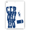 Geronimo - Doctor Who and Clara Tablet (vertical)