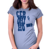 Geronimo - Doctor Who and Clara Womens Fitted T-Shirt