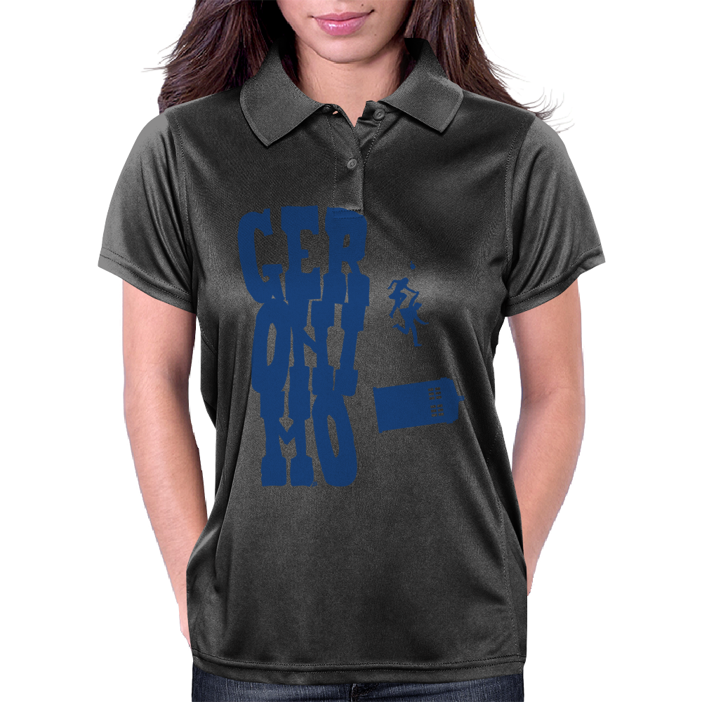 Geronimo - Doctor Who and Clara Womens Polo