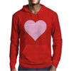 Get In Here Love Heart Mens Hoodie