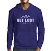 Get Lost in the Woods Mens Hoodie