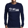 Get Low Bass Clef Mens Long Sleeve T-Shirt